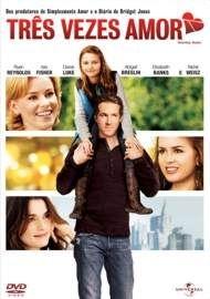 """Cartaz do filme """"Três Vezes Amor""""."""