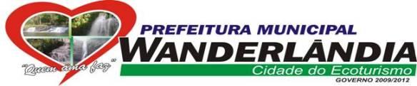 Logomarca atual da Prefeitura de Wanderlândia.