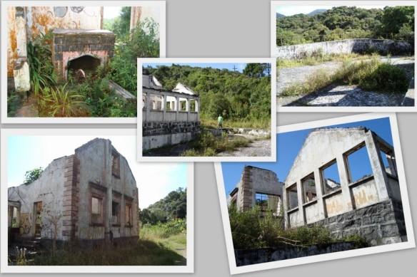 Lareira, piscina, fundos e laterais da Cada do Ipiranga nos dias atuais.