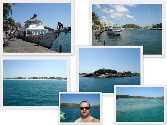Passeio de barco. (09/05/2009)