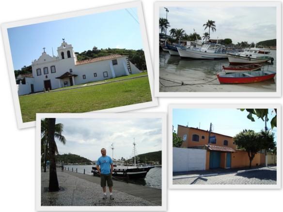 """Imagens de Cabo Frio e por último a """"Pousada São Lucas"""", onde me hospedei. (09 e 10/05/2009)"""