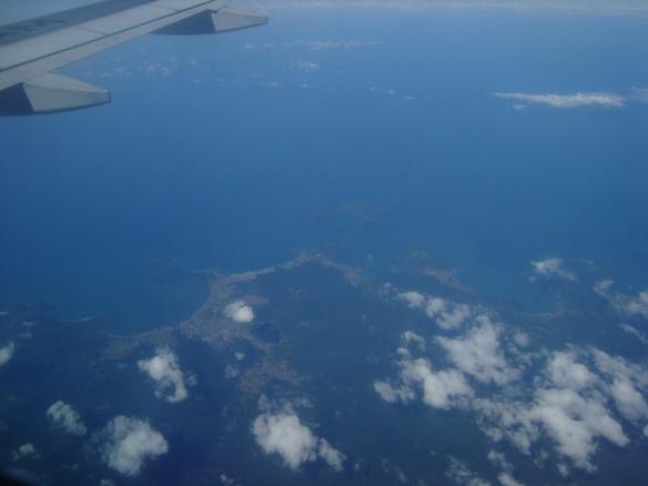 Quase chegando no Rio de Janeiro. (07/05/2009)