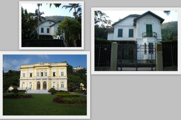 "Acima a ""Casa de Rui Barbosa""  e abaixo o ""Palácio Rio Negro"". (11/05/2009)"