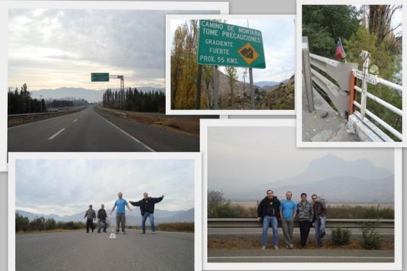 Na estrada a caminho da Cordilheira dos Andes. (24/05/2009)