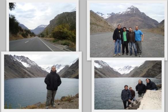 Montanhas e Lago Del inca. (24/05/2009)