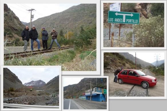 Na estrada voltando para Santiago. (24/05/2009)