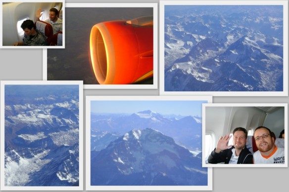"Voando por sobre a ""Cordilheira dos Andes"". (22/05/2009)"
