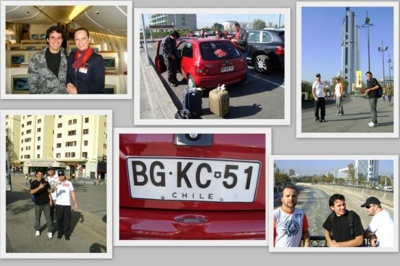 Nossas primeiras fotos em solo chileno. (22/05/2009)