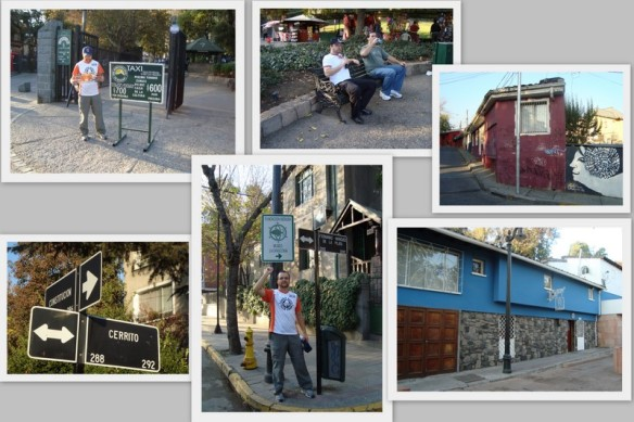 Proximidades do Zoológico e por último a casa de Neruda. (22/05/2009)