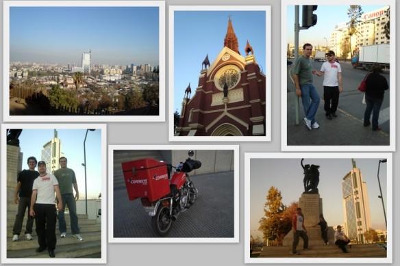 Passeio de fim de tarde pelas ruas de Santiago. (22/05/2009)