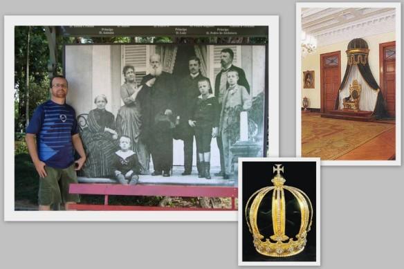 Família Imperial, Trono e coroa de D. Pedro II. (12/05/2009)