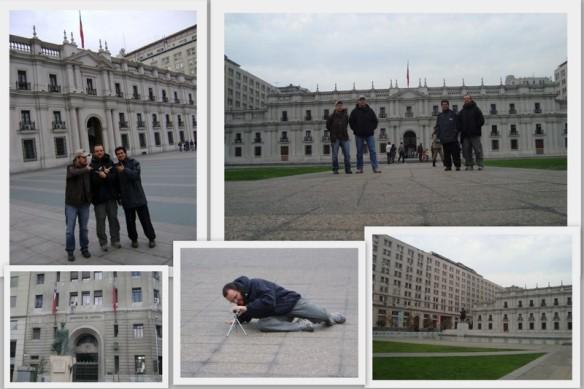 Palácio Governamental em Santiago. (24/05/2009)