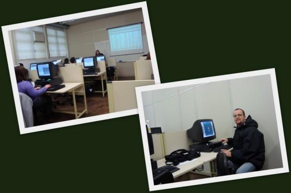 """Na Unisinos, treinamento do """"Projeto Sinergia"""". (14/07/2009)"""
