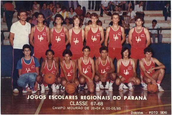 Colégio Unidade Polo - 1985