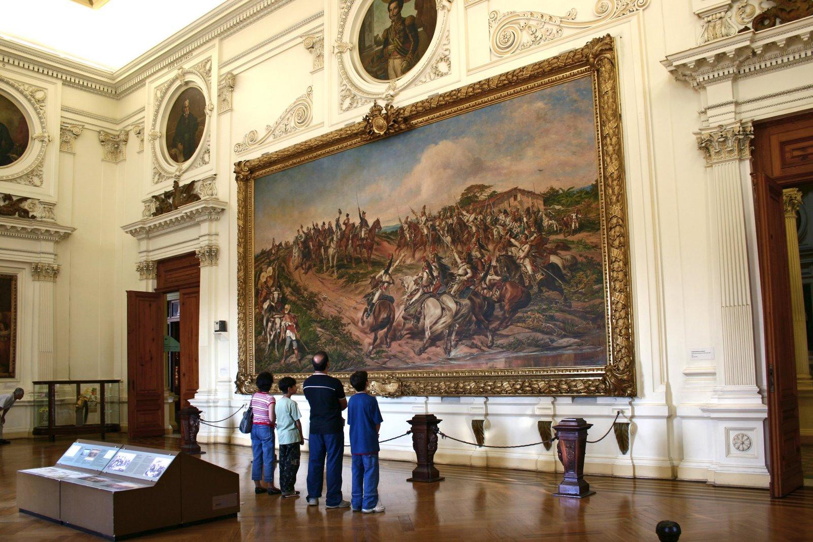 O famoso quadro da Proclamação da Independência,