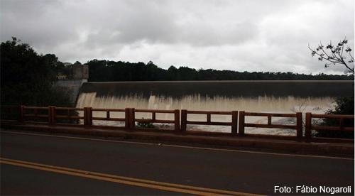 A represa essa semana. (Foto: Fábio Nogaroli)