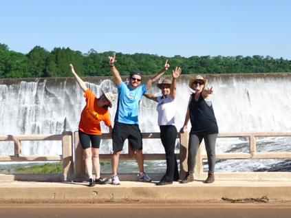 Cris, Vander, Marilene e Mariá. (novembro/2011)