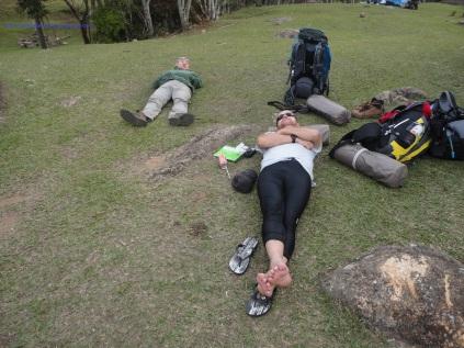 Descanso na Fazenda Pico Paraná.