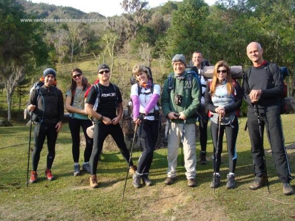 Rodrigo, Andy, Vander, Ana, Eduardo, Gustavo, Maristela e Jorge.