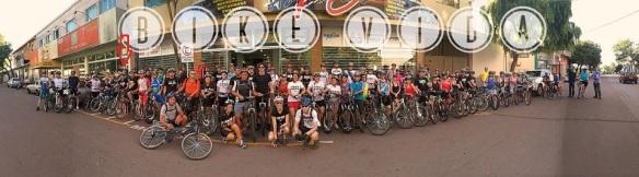 Grupo reunido para o pedal do dia 04/02/2014.