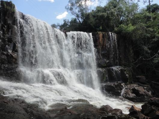A segunda cachoeira.