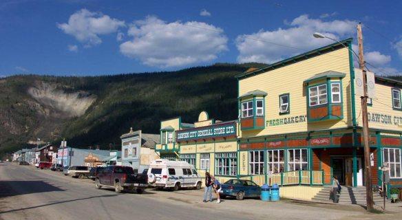 Dawson City atualmente.