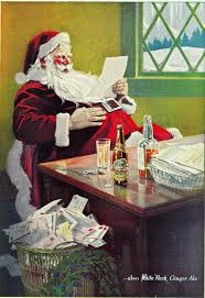 Papai Noel da Ginger Ale (1923).