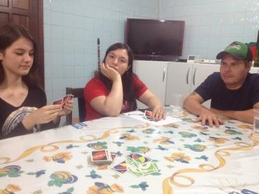 Mylena, Bianca e Rafael.