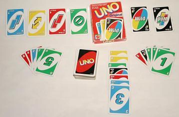O jogo clássico de UNO.