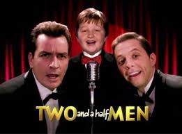 Formação original de Two and a half Men.