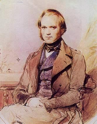 Darwin jovem, quando passou pelo Brasil.