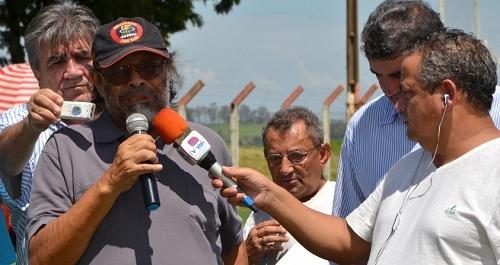 José Rico na região de Ubiratã, em 22/02/2015. (Foto: Boca Santa)