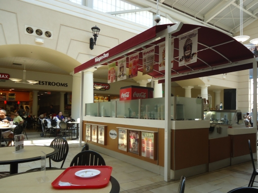 Qiosque da Häagen-Dazs no Prmiuem outlet, em Orlando.