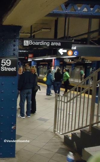 Estação da 59 Street. (2011)