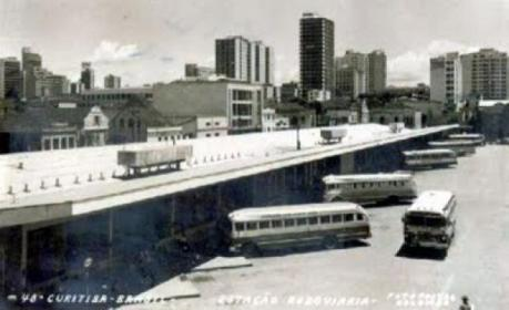 Antiga foto do Terminal Guadalupe.