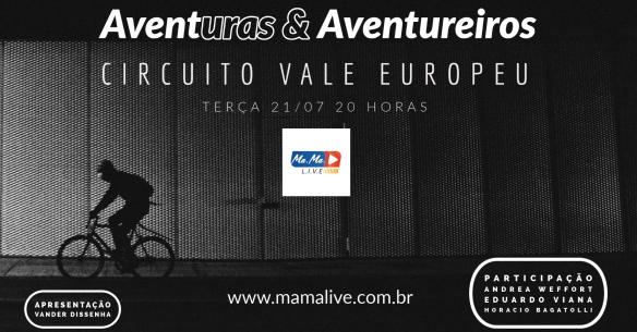 AVENTURAS & AVENTUREIROS 08 - 21.07.2020